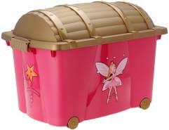 Truhe - Spielzeugbox PIRATEN Prinzessinnen
