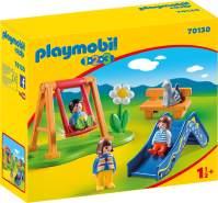 Playmobil 1.2.3 70130 'Kinderspielplatz', 8 Teile, ab 1,5 Jahren