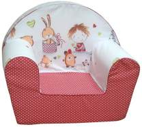 knorr-baby 'Spielzimmer' Kindersessel rot