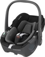 Maxi-Cosi 'Pebble 360' Babyschale 2021 Essential Black, 0 bis 13 kg (Gruppe 0+)