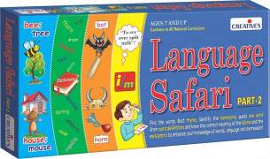 Creative Educational 584,2 cm Sprache Safari 5,1 cm Spiel