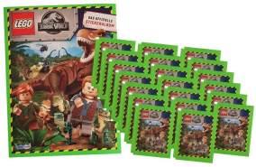 Blue Ocean Jurassic World Lego Sticker (2020) - 1 Album + 20 Tüten - Sammelsticker
