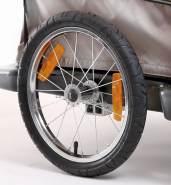 Croozer Unisex– Erwachsene Laufrad-3092015813 Laufrad, schwarz, One Size