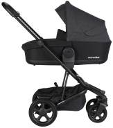 Easywalker 'Harvey 2' Kombikinderwagen 2 in 1 Night Black - Black