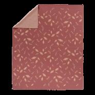 Fresk 'Forest' gestrickte Decke 80x100 cm rose