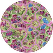 Misento 'City' Kinderteppich 200 cm rund