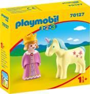 Playmobil 1.2.3. 70127 'Prinzessin mit Einhorn', ab 1,5 Jahren