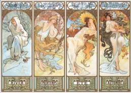 International Publishing 1001N15433B - The Four Seasons, 1896, Klassische Puzzle