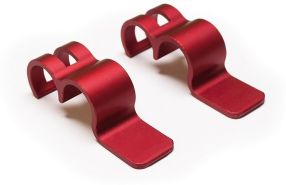 Burley Unisex– Erwachsene Rahmenriegel-3091996722 Rahmenriegel, Rot, One Size