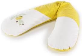 Ersatzbezug für Das Original THERALINE Schwangerschafts- & Stillkissen 100% Baumwolle  Applikation Esel akazia gelb