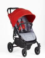 Valco Baby Buggy Snap 4 Original Dove Grey inkl. Dach in fire
