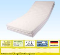 Doctor Sleep 'mediluxus' Matratze 200 x 200 cm, H2 (HR 45), Kernhöhe 16,5 cm, Bezug: Aloe Vera