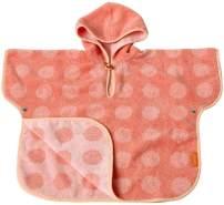 Leander Matty Poncho, 60x100 Coral/Pink