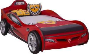 Cilek 'Coupe' Autobett rot inkl. Matratze 90x190