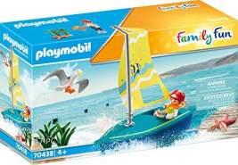 Playmobil Family Fun 70438 'Segeljolle', 17 Teile, ab 4 Jahren