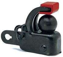 Hebie Unisex– Erwachsene F1 Anhängerkupplung, Black, Einheitsgröße