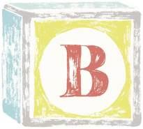Lilipinso Sticker Buchstabe auf Spielwürfel B