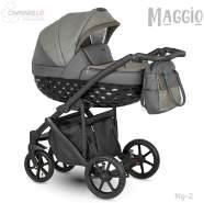 Camarelo Maggio Kombikinderwagen Mg-2 grau