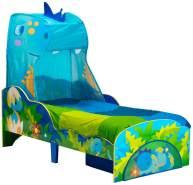 Worlds Apart Kinderbett mit Schublade Dinosaurier 142×77×138 cm Bunt