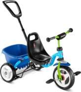 Puky - CEETY Dreirad Carry-Touring-Kipper blau/kiwi