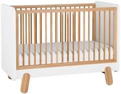 Pinio 'I´ga' Babybett weiß / natur