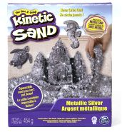 Spin Master 6026411 (20099970) - Kinetic Sand - Metallic Silber, 454g