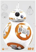 Komar Deco-Sticker Star Wars BB-8
