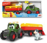 Simba Toys - Dickie Happy Fendt Animal Trailer