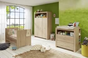 Trendteam 4-tlg. Babyzimmer-Set Olivia/Julie Eiche hell