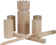 Beluga Kubb-Spiel, aus Holz 2 - 12 Spieler