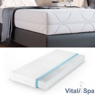 VitaliSpa 7-Zonen Premium Kaltschaummatratze 90 x 200 cm, 20cm hoch, H2