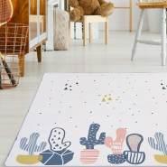 Baby Vivo 'Kaktus doppelseitig mit Straße' Spielteppich 180 x 150 cm