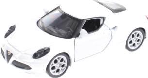Miniatur Alfa Romeo 4C weiß