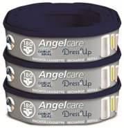 Angelcare Nachfüllkassette für Windeleimer Dress-Up 3 Stück