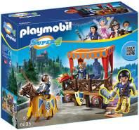 PLAYMOBIL - Königstribüne mit Alex 6695