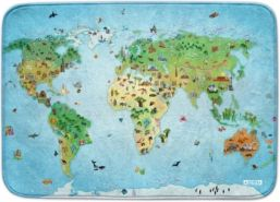 Ultrasoft Spielteppich 'Around the World' 100 x 150 cm