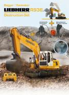 Bagger Liebherr R936 1:20 2,4G Destruction-Set