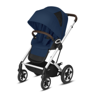 CYBEX Gold 'TALOS S LUX' Buggy 2021 Silver/Navy Blue