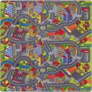 Misento 'Citiy' Kinderspielteppich 200 x 200 cm
