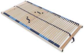 SUPERFLEX NV-MZV 7-Zonen-Montagerost, 42 stabile Federholzleisten mit durchgehenden Holmen Größe 80x200