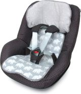Priebes - Felix Sitzauflage für Autositze der Klasse I - Elefanten Grau