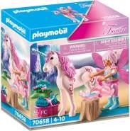 Playmobil Fairies 70658 'Einhorn mit Pflege-Fee' 26 Teile, ab 4 Jahren