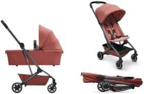 Joolz 'Aer' Kombikinderwagen 2in1 Absolute Pink inkl. Babywanne