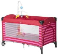 Prokids Disney Baby G220Ar - Reisebett mit Mobile Travelbed Lux with mobile Farbe Poolicious Red Motiv Winnie Pooh