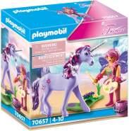 PLAYMOBIL Fairies 70657 'Einhorn mit Schmück-Fee', 31 Teile, ab 4 Jahren