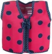 Konfidence Jacket Kinder Schwimmweste Pink Navy Ladybird 6 - 7 Jahre