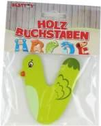 Besttoy Holzbuchstabe 'V' grün