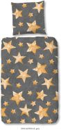 Good Morning Stella - Bettwäsche - 135x200 cm + 1 Kissenbezug 80x80 cm - Grau