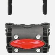 Kindersitzhalter Polisport Rahmenbef. für hinten Ø 28mm- 40mm