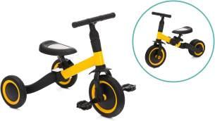 Dreirad gelb-schwarz